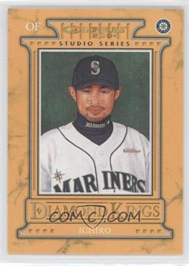 2004 Donruss Diamond Kings Inserts Studio Series #DK-4 - Ichiro Suzuki /250