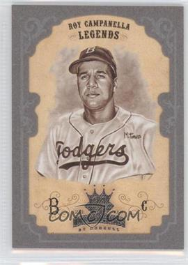 2004 Donruss Diamond Kings Silver Framed Sepia #169 - Roy Campanella /100