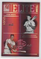 Red Schoendienst, Enos Slaughter, Stan Musial, Marty Marion /1
