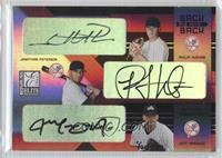 Phil Hughes, Jon Poterson, Jeff Marquez /100