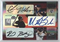 Chris Nelson, Matt Bush, Reid Brignac /250