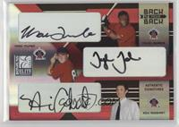 Tyler Johnson, Mark Trumbo, Nick Adenhart /100