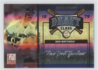 Orlando Hernandez, Don Mattingly, Doug MacKay /500