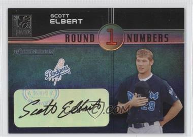 2004 Donruss Elite Extra Edition Round Numbers Signatures [Autographed] #RN-40 - Scott Elbert /250