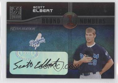 2004 Donruss Elite Extra Edition Round Numbers Signatures [Autographed] #RN-40 - Scott Elbert /250