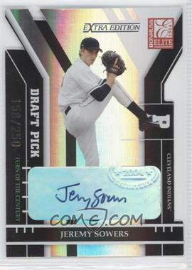 2004 Donruss Elite Extra Edition Turn of the Century Autographs #286 - Jeremy Sowers /250