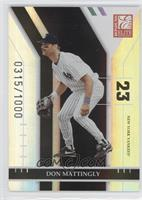 Don Mattingly /1000