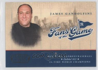 2004 Donruss Fans of the Game #201FG-1 - James Gandolfini /300