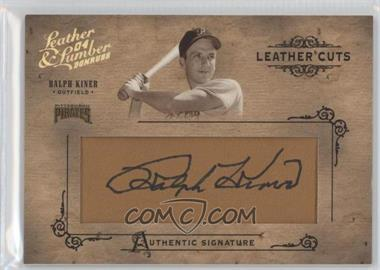 2004 Donruss Leather & Lumber - Leather Cuts - Glove #LC-44 - Ralph Kiner /224