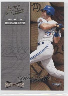 2004 Donruss Leather & Lumber - Naturals #N-4 - Paul Molitor /2499