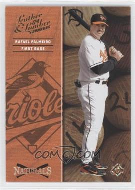 2004 Donruss Leather & Lumber - Naturals #N-5 - Rafael Palmeiro /2499