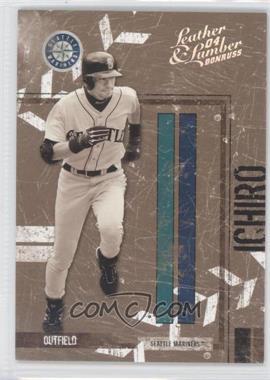 2004 Donruss Leather & Lumber [???] #130 - Ichiro Suzuki /100