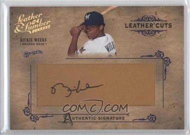 2004 Donruss Leather & Lumber [???] #LC-33 - Rickie Weeks /224