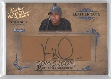 2004 Donruss Leather & Lumber [???] #LC-39 - Vernon Wells /160
