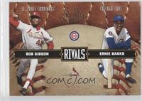Bob Gibson, Ernie Banks, Bobby Gilliam /2499