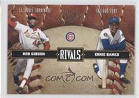 Bob Gibson, Ernie Banks /2499
