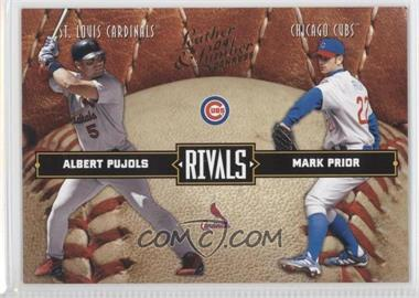 2004 Donruss Leather & Lumber [???] #LLR-2 - Albert Pujols, Mark Prior /2499