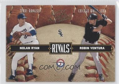 2004 Donruss Leather & Lumber [???] #LLR-25 - Nolan Ryan, Robin Ventura /2499