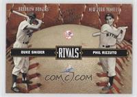 Duke Snider, Phil Rizzuto /2499