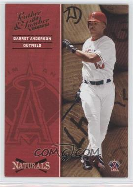 2004 Donruss Leather & Lumber [???] #N-2 - Garret Anderson /2499