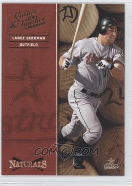 2004 Donruss Leather & Lumber [???] #N-3 - Lance Berkman /2499