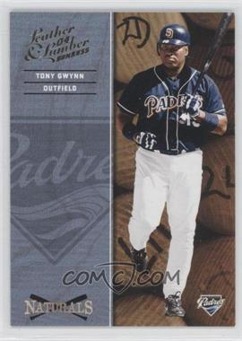 2004 Donruss Leather & Lumber [???] #N-8 - Tony Gwynn /2499