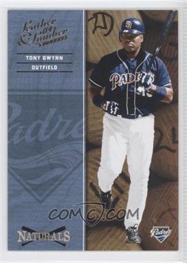 2004 Donruss Leather & Lumber [???] #N-8 - Tony Gwynn /2499