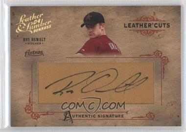 2004 Donruss Leather & Lumber Leather Cuts Golve #LC-35 - Roy Oswalt /224