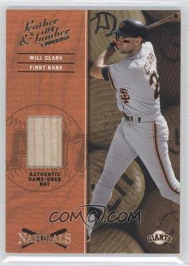 2004 Donruss Leather & Lumber Naturals Bat [Memorabilia] #N-10 - Will Clark /250