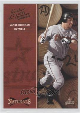 2004 Donruss Leather & Lumber Naturals #N-3 - Lance Berkman /2499
