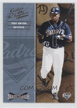 2004 Donruss Leather & Lumber Naturals #N-8 - Tony Gwynn /2499
