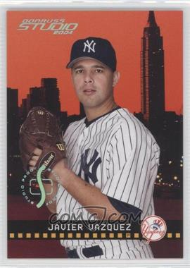 2004 Donruss Studio - [Base] - Studio Proofs Platinum #137 - Javier Vazquez /10