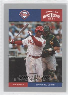 2004 Donruss Team Heroes Showdown Silver #311 - Jimmy Rollins /50