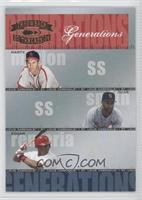 Ozzie Smith, Edgar Renteria, Marty Marion /1500