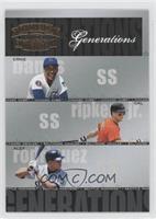 Carlos Rivera, Alex Rodriguez, Ernie Banks /1500