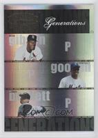 Bob Gibson, Dwight Gooden, Josh Beckett /100