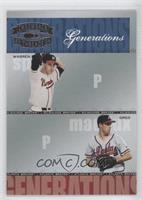 Warren Spahn, Greg Maddux /1500