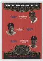 Duke Snider, Pee Wee Reese, Tommy Lasorda /1500