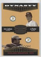 Reggie Jackson, Jim Hunter /1500