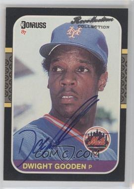 2004 Donruss Timelines Recollection Collection Buyback Autographs #199 - Dwight Gooden