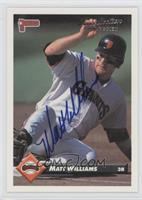 Matt Williams 1993 Donruss #182 /24