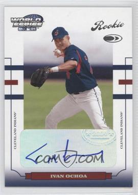 2004 Donruss World Series [???] #WS-176 - Ivan Ochoa