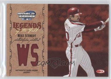 2004 Donruss World Series Legends of the Fall Materials [Memorabilia] #LF-15 - Mike Schmidt /50