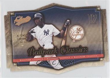 2004 Fleer Authentix - Ballpark Classics #2 BC - Alfonso Soriano