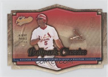 2004 Fleer Authentix [???] #4BC - Albert Pujols