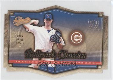 2004 Fleer Authentix [???] #6BC - Mark Prior
