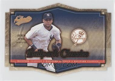2004 Fleer Authentix [???] #8BC - Derek Jeter