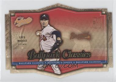 2004 Fleer Authentix [???] #9BC - Greg Maddux