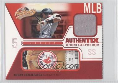 2004 Fleer Authentix [???] #JA-NG - Nomar Garciaparra