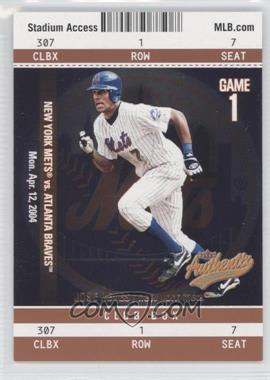 2004 Fleer Authentix Club Box #100 - Jose Reyes /25